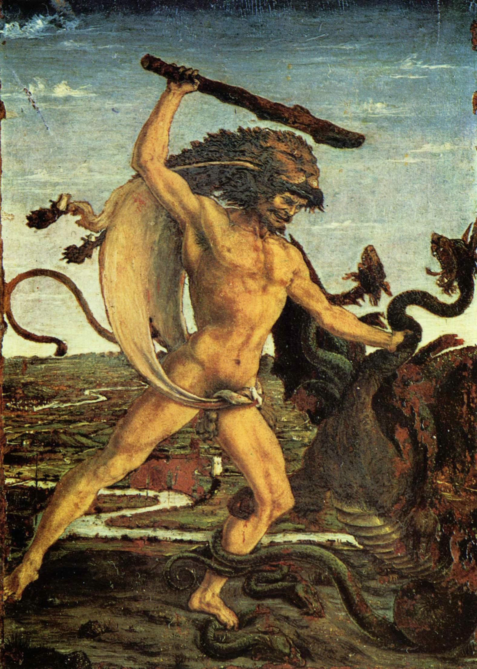Pollaiuolo: Herkules und Hydra