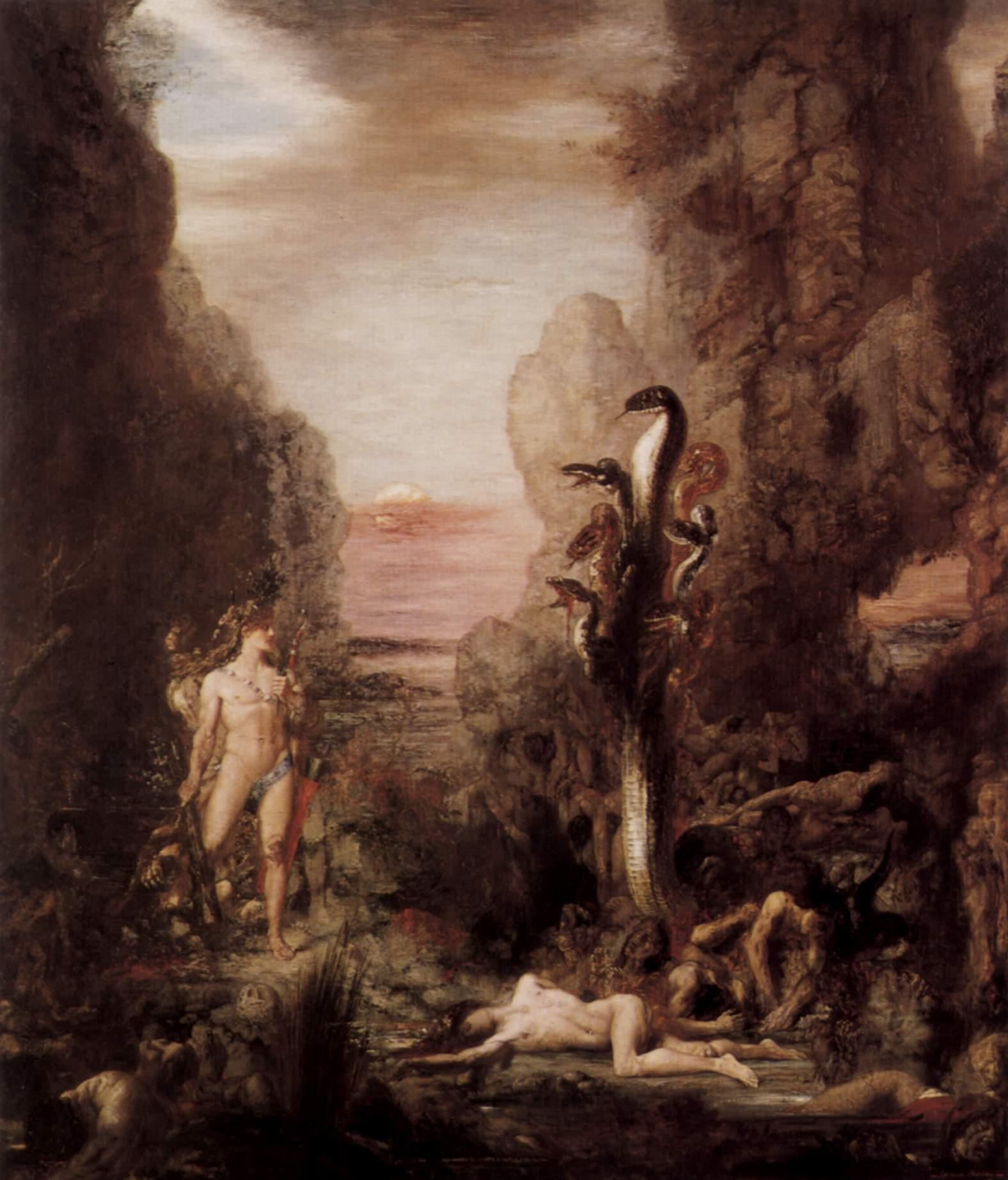 Moreau: Herkules und Hydra