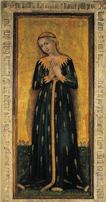 Maria im Ährenkleid