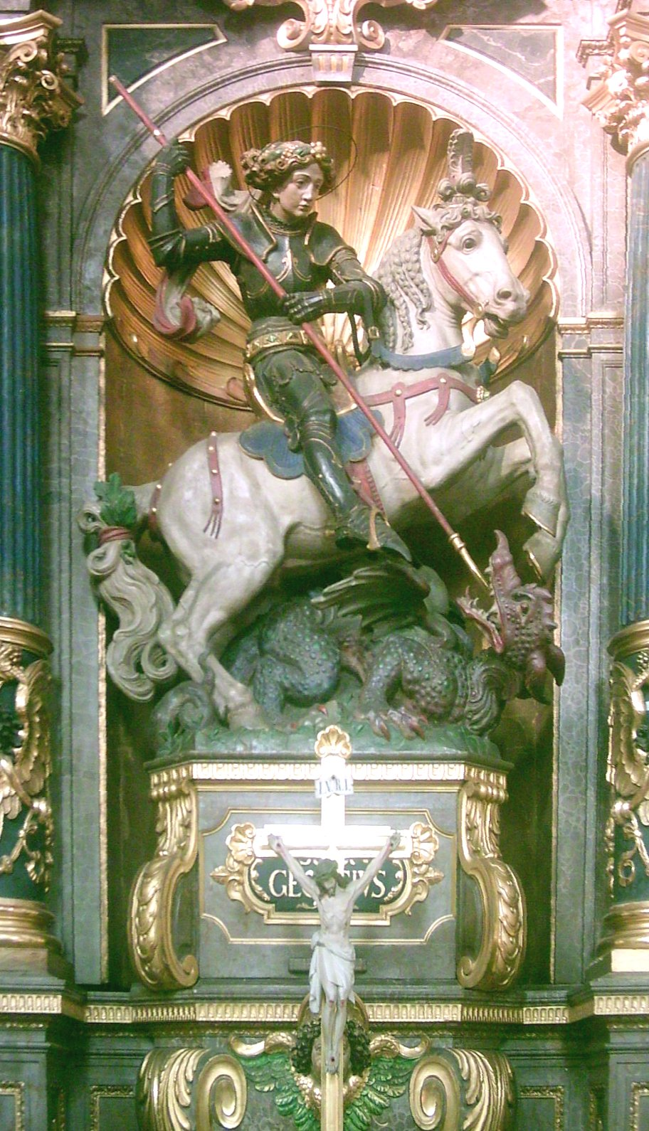 St. Georg, Maragaretenkirche München, 16. Jhdt.