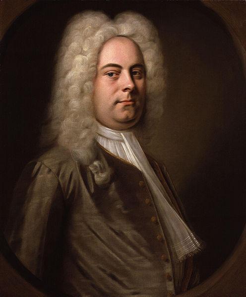 Georg Friedrich Händel (Gemälde von Balthasar Denner)