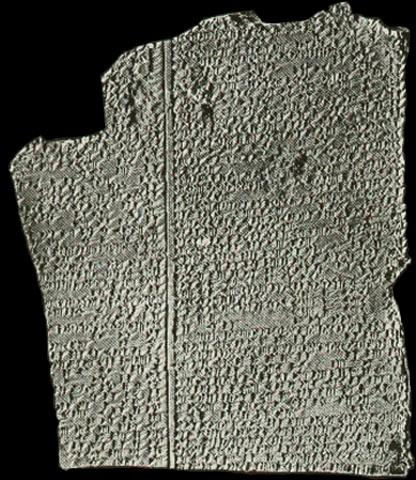 Tafel mit Gilgamesch-Epos