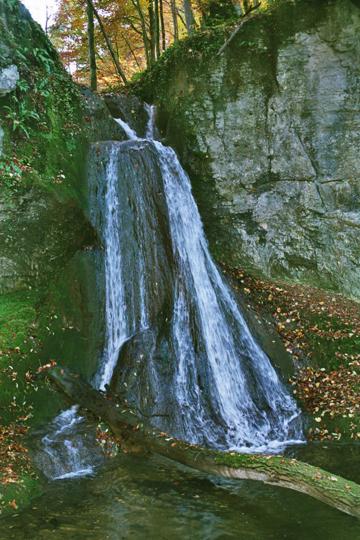Wasserfall Ergolz unterhalb Oltingen