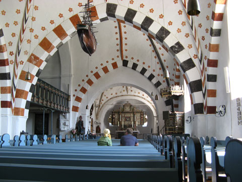 Boldixum-Wyk auf Föhr: Kirche St. Nicolai