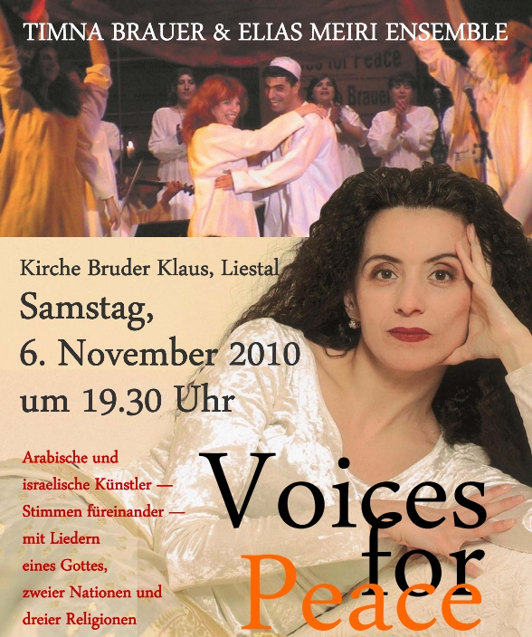 Voices for Peace Flyer