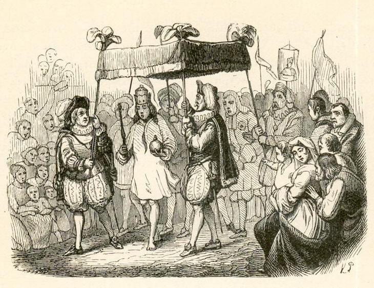 Des Kaisers neue Kleider (1849, Vilhelm Pedersen)