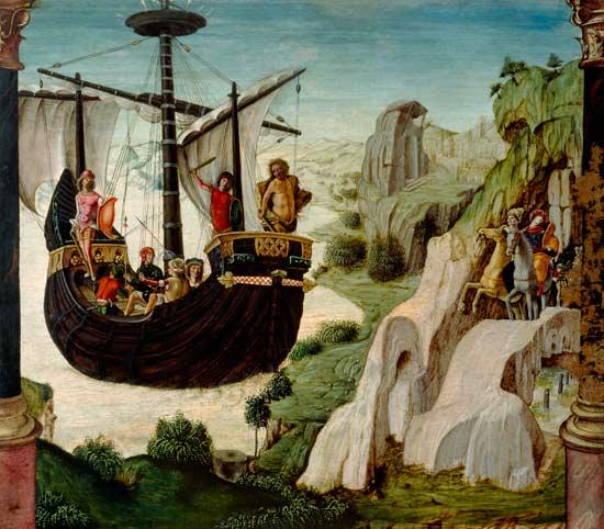 Die Argonauten (Lorenzo Costa, Anfnags 16. Jhdt.)