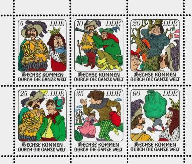 Briefmarkenserie DDR