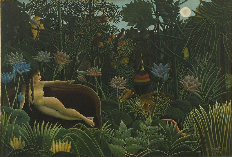 Henri Rousseau: Der Traum (1910)