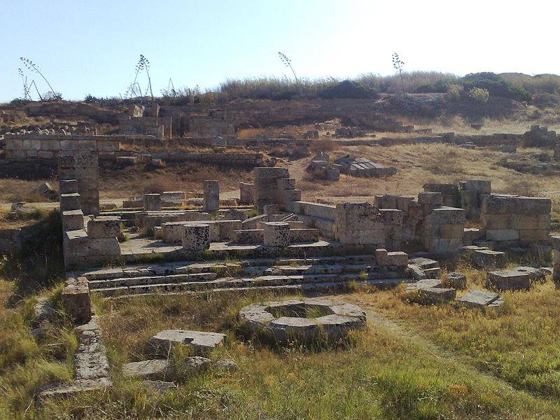 Hekate-Tempel im Demeter-Persephone-Heiligtum Selinus