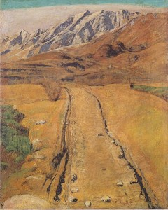 Ferdinand Hodler: Tessiner Landschaft (1893)