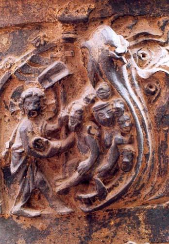 Taufbecken in der Kirche St.Marien in Wismar