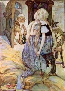 Müllerstochter und Rumpelstilzchen Anne Anderson