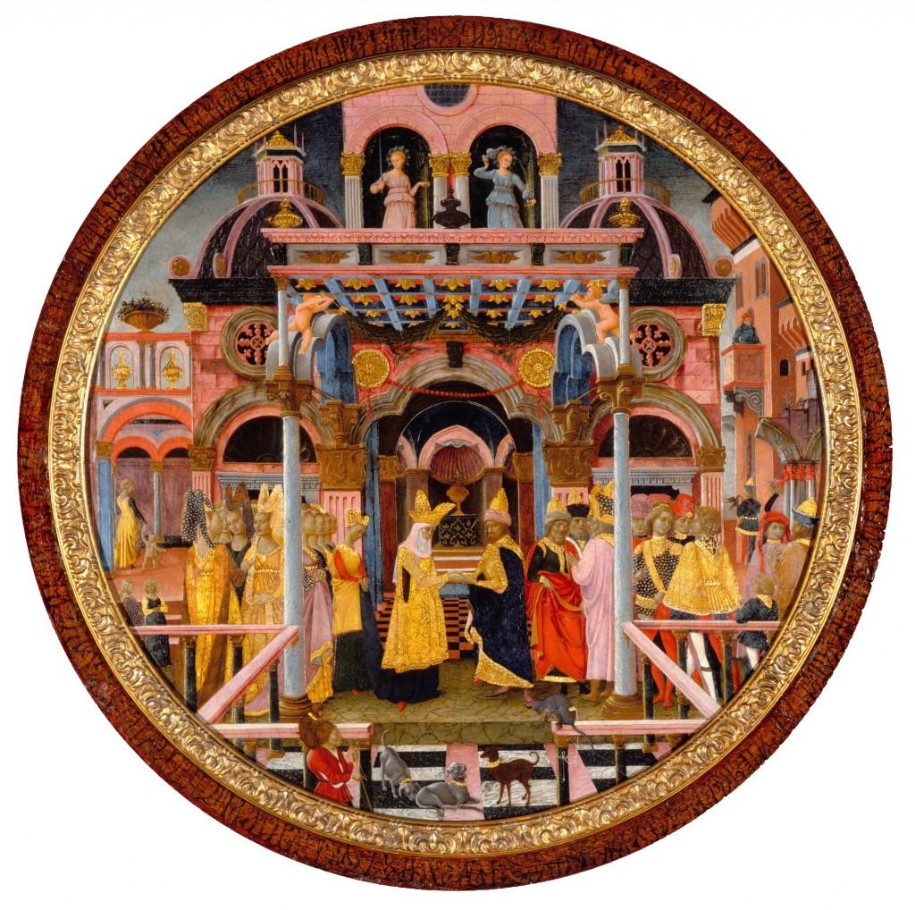 Ferrara: unbekannter italienischer Künstler des 15. Jhdts.