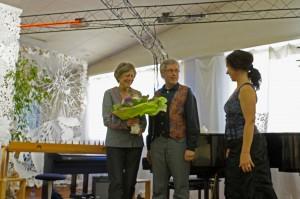 Schluss-Applaus für Ingrid, Urs und Sigrid