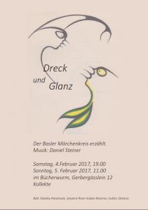"Flyer ""Dreck & Glanz"""